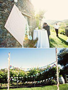 Lauren & Jeffs Whimsical Kite Wedding