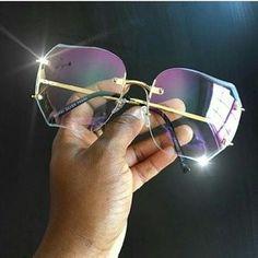 5d9c9cf25ce no brand Accessories - Vintage oversized glasses Oversized Glasses