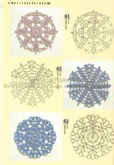 http://make-handmade.com/2011/08/26/crafts-books-200-crochet-motifs/