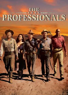 THE PROFESSIONALS. Big cast highlight this action flick.