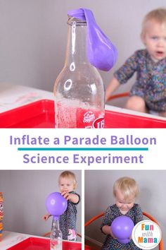 This fun balloon experiment for kids is a great idea for Thanksgiving Science, or any time of the year. They'll love this science activity!