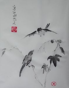 106 images de peinture chinoise qui font envie chinese painting india ink et japanese art - Dessin de chinoise ...