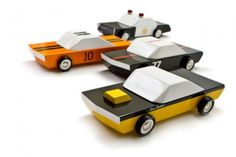 The Candy Lab Mo-to Wooden Toy Cars