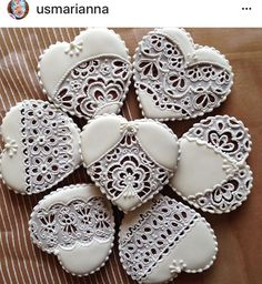 Fancy Cookies, Heart Cookies, Love Heart, Christmas Cookies, Med, Sweet Hearts, Pottery, Sugar, Desserts