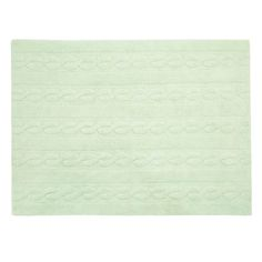 Washable Rug Trenzas Soft Mint / Alfombra lavable Trenzas Mint Lorena Canals