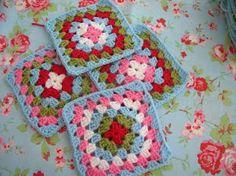 Cath Kidston inspired Granny Squares