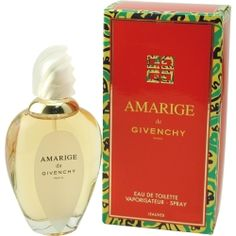 Amarige perfume by Givenchy Edt. spray 1.7 oz $ 67.00, Edt spray  3.4 oz $ 90.00. Free sh in USA