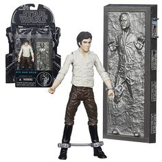 10% OFF Star Wars The Black Series Han Solo in Carbonite 3 -Inch Action Figure http://geek.ragebear.com/l36bf