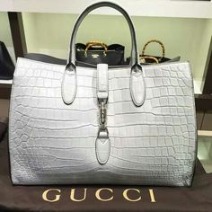 Bid online for designer handbags up for auction from seized assets and estate sales. Brands include Gucci, Louis Vuitton, Chanel and more. Gucci Purses, Gucci Handbags, Fashion Handbags, Purses And Handbags, Fashion Bags, Designer Handbags, Leather Handbags, Fashion Outfits, Gucci Fashion