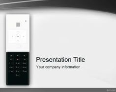 Free mobile device powerpoint template with white background and remote control powerpoint template is a free ppt template that you can download to decorate your toneelgroepblik Choice Image