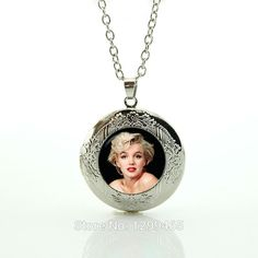 2017 Collier Maxi Necklace Collares Fashion Jewelry Film Marilyn Monroe Necklace Movie Pendant Handmade Gifts For Fans N715 //Price: $US $1.93 & FREE Shipping //     #hashtag2