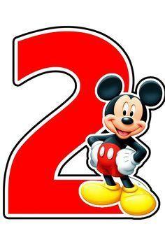 Resultado de imagen de numero 2 mickey mouse para imprimir  #de #imagen #imprimir Theme Mickey, Fiesta Mickey Mouse, Mickey Mouse Bday, Mickey Mouse Clubhouse Birthday, Mickey Mouse Parties, Mickey Party, Mickey Mouse Birthday, Pirate Party, 2nd Birthday