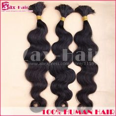 Top Quality Bulk Virgin Hair Body Wave Bulk Hair For Braiding In Stock No Attachment 100% Unprocessed Human Hair Long Grade 7A //Price: $US $15.44 & FREE Shipping //   http://humanhairemporium.com/products/top-quality-bulk-virgin-hair-body-wave-bulk-hair-for-braiding-in-stock-no-attachment-100-unprocessed-human-hair-long-grade-7a/  #baby_hair_wigs