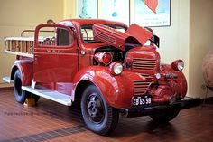 Dodge Fire Truck by Pale-Recluse.deviantart.com on @deviantART