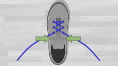 6 Ways to Lace Shoes - wikiHow Lace Converse Shoes, Ways To Lace Shoes, Different Colors, Skateboard, Diy And Crafts, Lace Up, Shoe, Lace Shoes, Skateboarding
