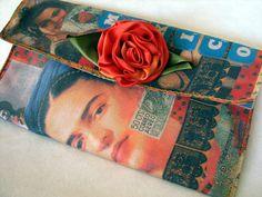 Frida Kahlo clutch