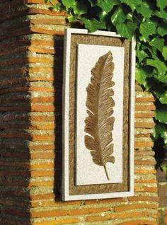 Gardman 44 x 22cm Banana Leaf Wall Tile