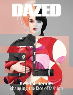 Kendall Jenner Changes Faces for Dazed Winter 2014 Cover pib by: Ben Toms