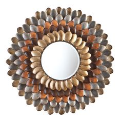 Upton Home Andreas Decorative Round Mirror | Overstock.com Shopping - The Best Deals on Mirrors