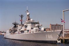 HNLMS Abraham Crijnssen (F816) - Kortenaer class Frigate (Netherlands)