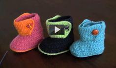 cómo hacer unos zapatitos de bebé