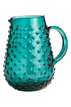 Carafe à motif texturé - Pétrole - Home All | H&M FR