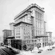 The old Hotel Vancouver
