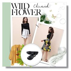 """""""Wild flower :) :)"""" by mezzy-military ❤ liked on Polyvore featuring Chicwish and chicwish"""