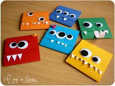 diy monster cards