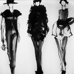 Fashion Sketchbook - fashion design illustrations; fashion sketches; fashion drawing; fashion portfolio // Rosa Granados