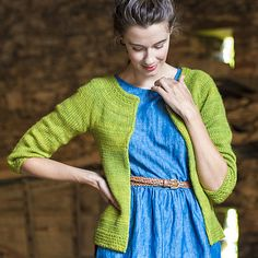 The Fibre Company Road to China Winthrop Cardigan Knitting Pattern