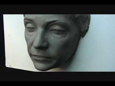 Fading Beauty. Sculpting clay demo( Aging process)