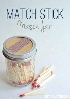 Creative Mason Jar DIY Ideas #masonjars