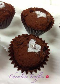 Chocolate truffles .. Yummy!