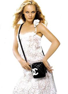 Vanessa Paradis - Chanel Ligne Cambon ad from 2004