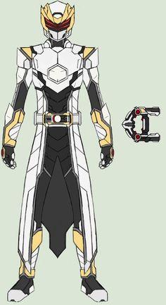 Kamen Rider Raiz by on DeviantArt Fantasy Character Design, Character Design Inspiration, Character Concept, Character Art, Character Modeling, Pawer Rangers, Power Rangers Art, Armor Concept, Concept Art