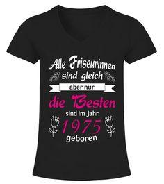 T-Shirt zum 44.Geburtstag für Damen Frauen Geburtstag 44 Jahre Jahrgang 1975