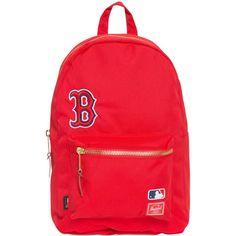 Herschel Settlement Boston Red Sox Rucksack für 139,95€. Boston Red Sox Fanwear, Großes Hauptfach mit integriertem Laptopfach bei OTTO