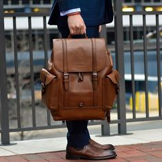 Coach Mens 2016 - Men's style, accessories, mens fashion trends 2020 Unique Backpacks, Men's Backpacks, Leather Purses, Leather Handbags, Leather Bags, Vintage Leather, Leather Men, Backpack Bags, Leather Backpack