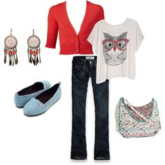 First creation on Polyvore.com :) Great site!