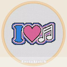 From modern to traditional: 6 music themed cross stitch patterns to stitch up for your favorite musician