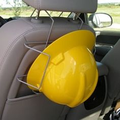 Hard Hat Rack - Seat Mount