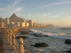 Sea Point boulevard, Capetown