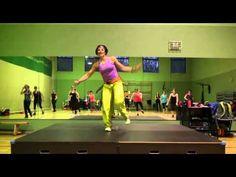 Fireball by Pitbull con Coreografía de Andrea MORTON  ZUMBA FITNESS