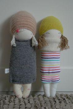 wollen dolls