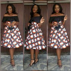 Latest beautiful collection the best plain and patterned ankara collections there are in the African print ankara fashion world Ankara Short Gown Styles, Trendy Ankara Styles, Short Gowns, Ankara Gowns, African Attire, African Wear, African Women, African Dress, African Style