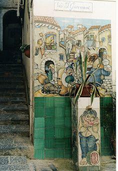 Ceramiche murali - Vietri sul Mare