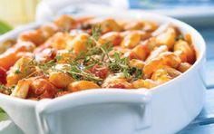 Γίγαντες με ντομάτα στο φούρνο - iCookGreek