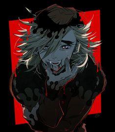 Anime Demon, Anime Manga, Anime Guys, Demon Slayer, Slayer Anime, Sasunaru, Emo Art, You Monster, Japanese Tattoo Designs