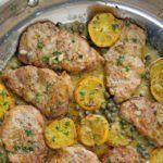Pork Medallions with Picatta Sauce Pork Sirloin Tip Recipe, Pork Loin Recipes Oven, Pork Cutlet Recipes, Pork Sirloin Roast, Cooking Wine Recipes, Grilling Recipes, Meat Recipes, Yummy Recipes, Slow Roasted Pork Shoulder